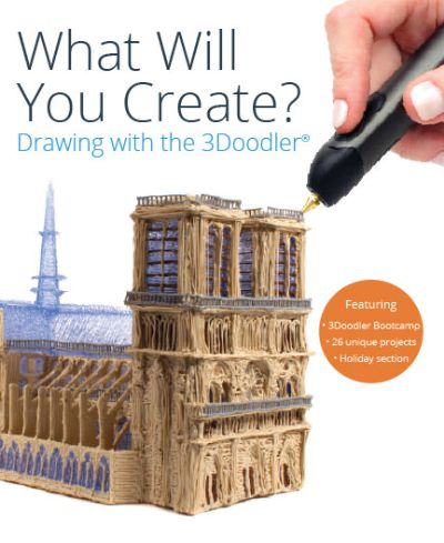 Book cover for the 3Doodler book.